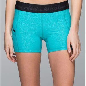 Lululemon | What The Sport Short Heathered Blue